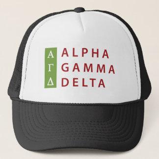 Gorra De Camionero Delta gamma alfa apilado
