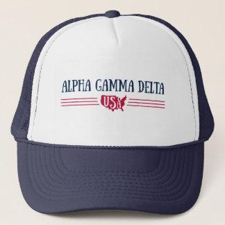 Gorra De Camionero Delta gamma alfa los E.E.U.U.