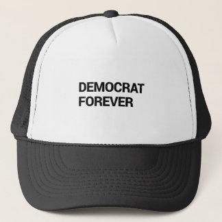 Gorra De Camionero Demócrata para siempre