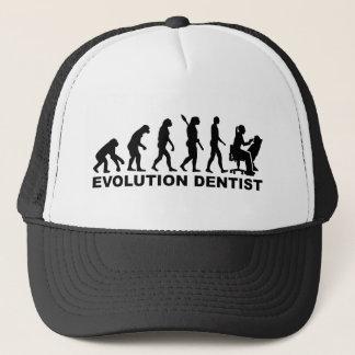 Gorra De Camionero Dentista de la hembra de la evolución