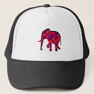 Gorra De Camionero Deslumbramiento del elefante
