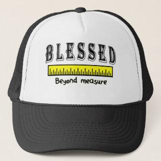 Gorra De Camionero Desmesuradamente agradecido positivo cristiano