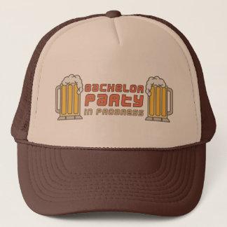 Gorra De Camionero Despedida de soltero de las tazas de cerveza en