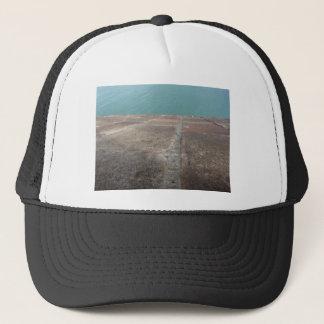 Gorra De Camionero Desplazamiento dentro del mar azul
