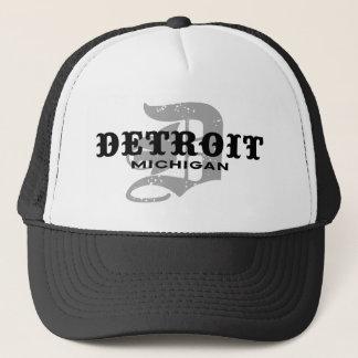 Gorra De Camionero Detroit Michigan