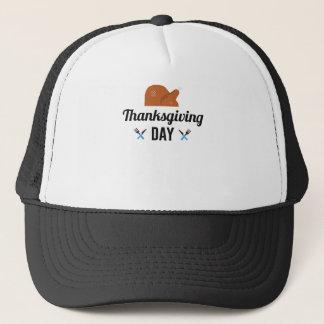 Gorra De Camionero Día feliz Turquía de la acción de gracias