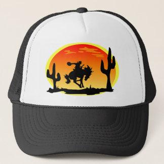 Gorra De Camionero Día nacional de la silueta del caballo salvaje del