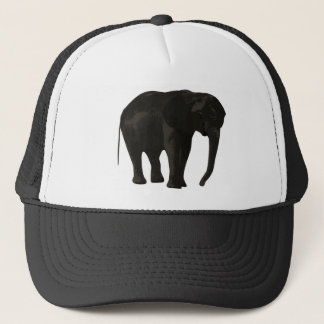 Gorra De Camionero Dibujo animado del elefante