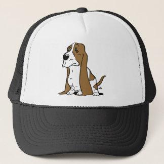 Gorra De Camionero Dibujo animado del perro de afloramiento