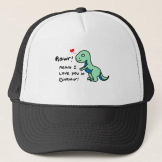 Gorra De Camionero Dinosaurio