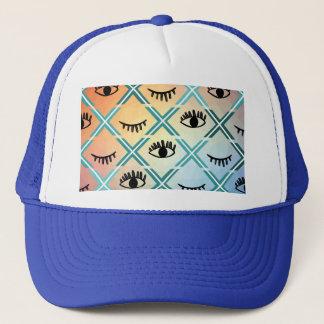Gorra De Camionero Diseño colorido original de los ojos
