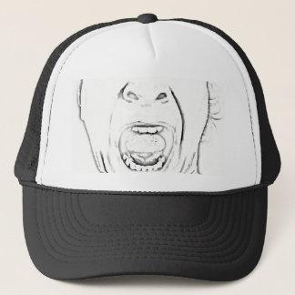 Gorra De Camionero Diseño de griterío hilarante de la cara