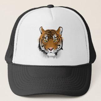 Gorra De Camionero Diseño de la impresión de la cabeza del tigre