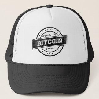 Gorra De Camionero Diseño del logotipo de la etiqueta de Bitcoin