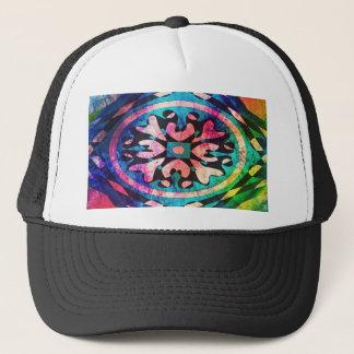 Gorra De Camionero Diseño en fondo colorido