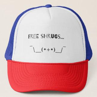 Gorra De Camionero Diseño libre divertido de la tipografía de Emoji
