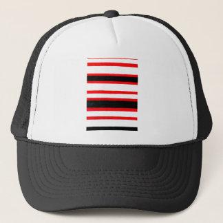 Gorra De Camionero Diseño rayado de la abstracción