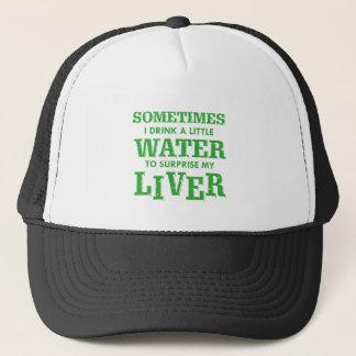Gorra De Camionero Diseños divertidos del hígado
