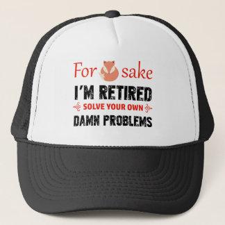 Gorra De Camionero Diseños jubilados divertidos