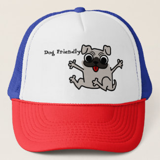 Gorra De Camionero Dog Friendly trucker hat