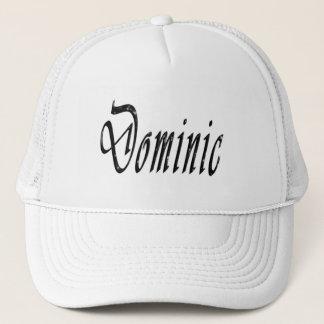 Gorra De Camionero Dominic, nombre, logotipo,