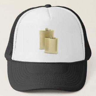 Gorra De Camionero Dos frascos de oro de la cadera