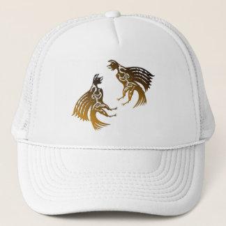 Gorra De Camionero dos gallos