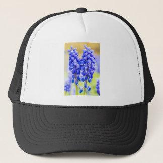 Gorra De Camionero Dos jacintos de uva azules en primavera