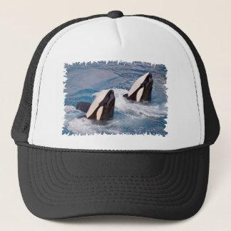 Gorra De Camionero Dos orcas