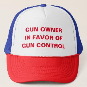 Gorra De Camionero Dueño de arma a favor del control de armas