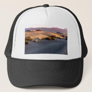 Gorra De Camionero Dunas de arena planas del Mesquite Death Valley