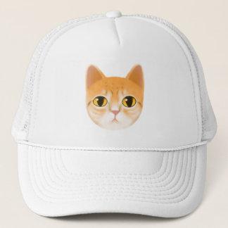 Gorra De Camionero Ejemplo lindo del gato de Tabby