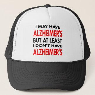 Gorra De Camionero El blanco puede tener Alzheimers