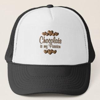 Gorra De Camionero El chocolate es mi Passioin