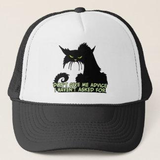 Gorra De Camionero El decir del consejo del gato negro