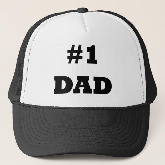 896893f676e34 Gorra De Camionero El día de padre feliz - numere a 1 papá - papá  1 ...
