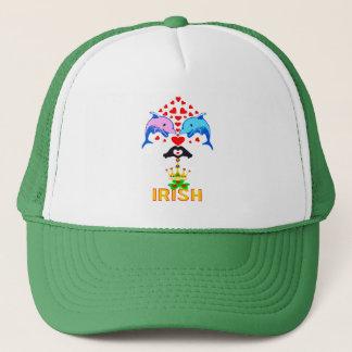 Gorra De Camionero el día de St Patrick Irlandés-Impresionante del
