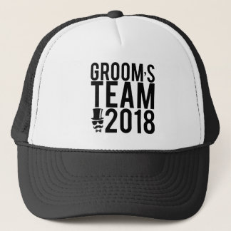 Gorra De Camionero El equipo 2018 del novio