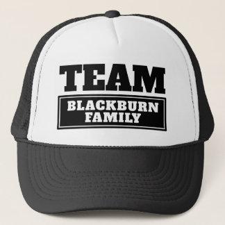 Gorra De Camionero El equipo negro personalizó nombre del equipo o