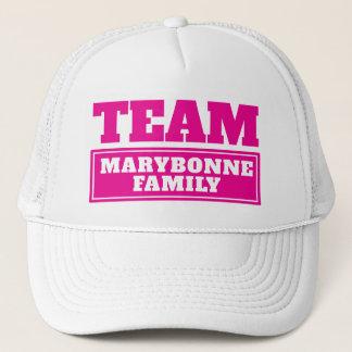 Gorra De Camionero El equipo rosado personalizó nombre del equipo o