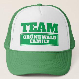 Gorra De Camionero El equipo verde personalizó nombre del equipo o