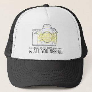 Gorra De Camionero El fotógrafo Nikon D700 es todo lo que usted