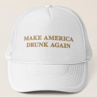 Gorra De Camionero El funcionario hace América bebida otra vez para