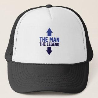 Gorra De Camionero El hombre la leyenda