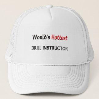 Gorra De Camionero El instructor de taladro más caliente de los