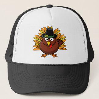 Gorra De Camionero El logotipo de Turquía de la acción de gracias