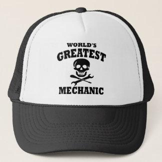 Gorra De Camionero El mecánico más grande