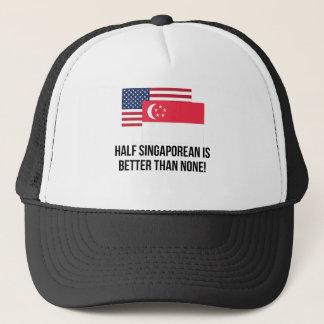 Gorra De Camionero El medio singapurense es mejor que ninguno