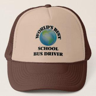 Gorra De Camionero El mejor conductor del autobús escolar del mundo