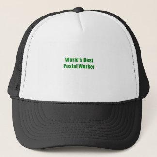 Gorra De Camionero El mejor empleado de correos de los mundos
